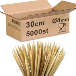 Bamboe prikkers 30cm Ø4mm...