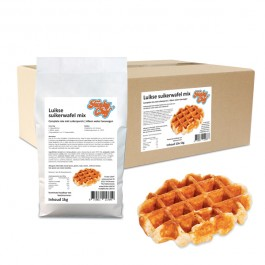 Luikse Suikerwafel mix 10x 1kg