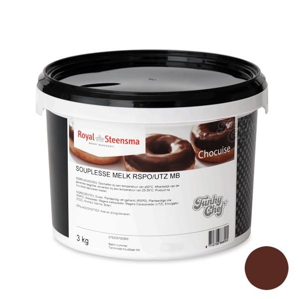 Souplesse Glazuur Melkchocolade