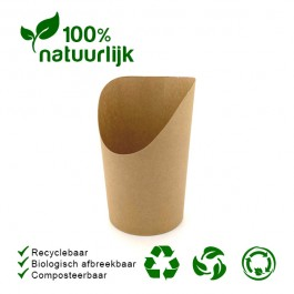 BIO Bubblewafel Bekers 50st.
