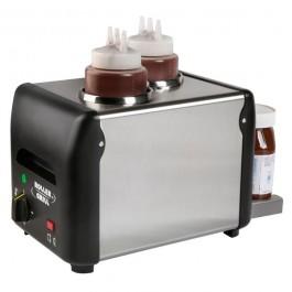 Topping Verwarmer & Dispenser (dubbel)